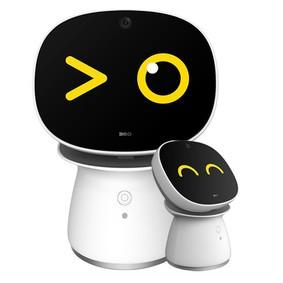 【包邮】360儿童机器人AR镜套装版高科技智能语音聊天对话陪伴玩具 白色